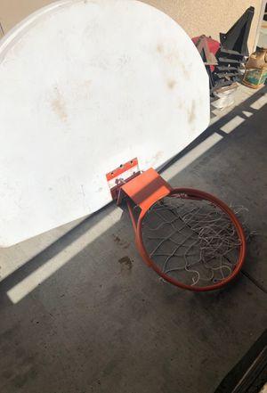 Basketball hoop and backboard for Sale in Manteca, CA