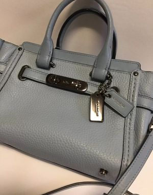 Coach 36235 Swagger Carryall Pebble Leather Shoulder Crossbody Bag for Sale in Manassas, VA