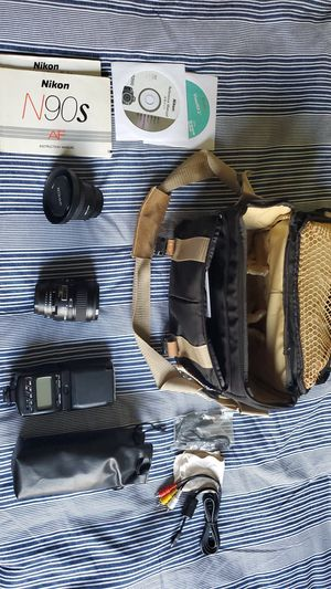 Nikon lense set for Sale in Cliffside Park, NJ