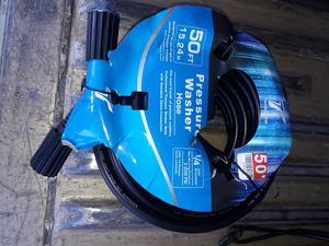 50ft pressure washer hose price is firm no lowballers for Sale in Fontana, CA