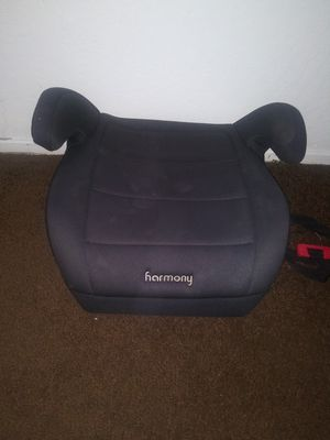$10 all black booster seat harmony for Sale in Hayward, CA