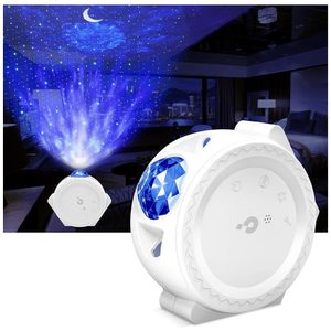 Night Light Projector, LBell 3 in 1 Ocean Wave Projector Star Projector w/LED Nebula Cloud& Moon, Voice Control, Galaxy Projector for Kids Bedroom/Hom for Sale in Lilburn, GA
