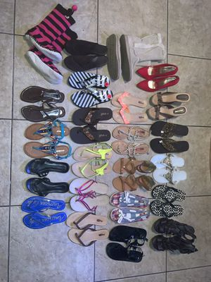 23 pairs of shoes for Sale in Auburndale, FL