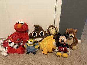 Stuffed animals - see description for Sale in Lumberton, NJ