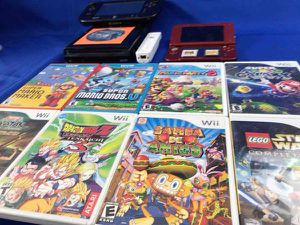 New Nintendo 3DS XL System + Wii U System, Mario Maker,Party,3D Land,Xenoblade for Sale in San Antonio, TX