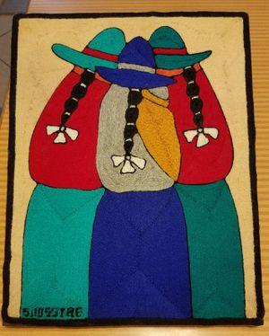 Juan Silva yarn painting for Sale in Pompano Beach, FL