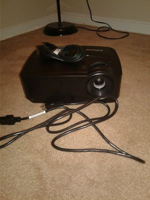 InFocus HD/ 3D Screen/ Wall Projector for Sale in Norcross, GA