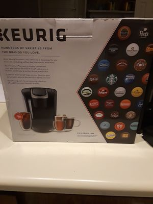 Used Keurig coffee maker. Only had it 3 weeks. I just got let go from my job and cant afford expensive coffe. So teyimg to find thisnguy a new home for Sale in Kennesaw, GA