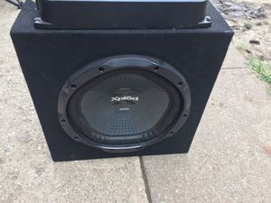 Pioneer amplifier Sony subwoofer1200w for Sale in Kansas City, MO