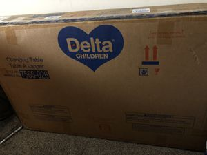 Delta children changing table for Sale in Bloomington, CA