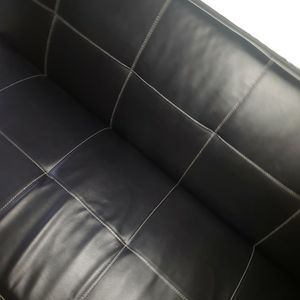 Futon Couch Black for Sale in Portland, OR