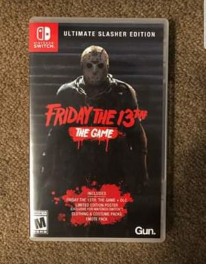Friday the 13th Slasher Edition (Nintendo Switch) for Sale in Falls Church, VA