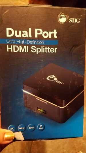 HDMI dual splitter NEW for Sale in Sanger, CA