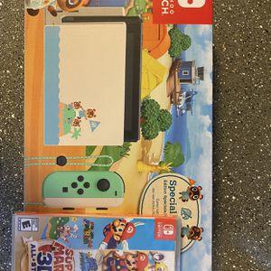 Nintendo Switch Animal Crossing Edition W Game for Sale in Phoenix, AZ