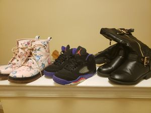 Girls boots and sneakers Size 11 for Sale in Toms River, NJ