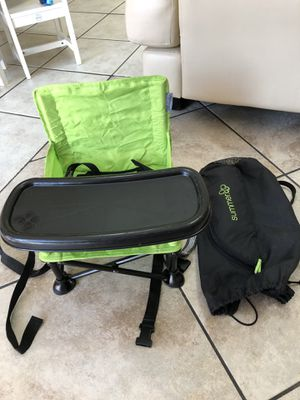 Summer Infant Pop 'n Sit Portable Booster Seat, Teal for Sale in Lake Worth, FL