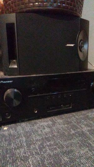 Pioneer Stereo And 2 Big Bose speakers for Sale in Brooklyn Park, MD