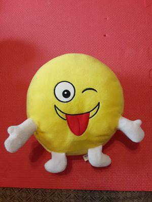 Talking Empticon Emoji -Kins Pillow Plush Stuffed Animated for Sale in Lehigh Acres, FL