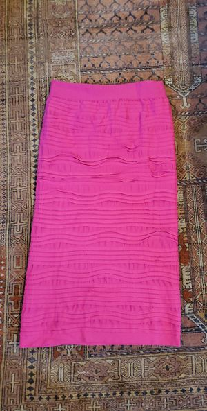 Hot pink bodycon midi skirt for Sale in Oakland, CA
