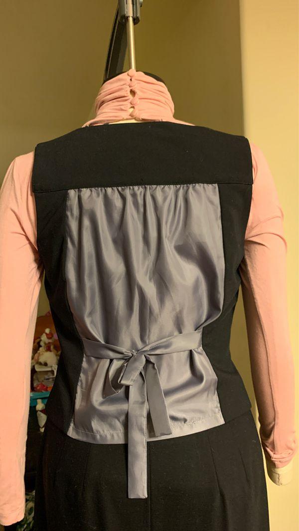 Alfa I black vest, size 6