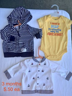 Baby Boy Clothes 3-6 Months for Sale in Lewisville, TX