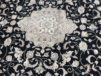 Gorgeous Rug With Neutral Colors Smoke Pet Free Home. Lightly Used! Excellent Condition. Made in Turkey 8feet By 10feet for Sale in Corona,  CA