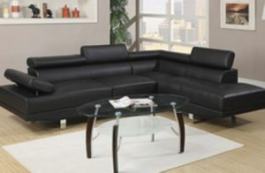 New black sectional sofa couch for Sale in Orlando, FL