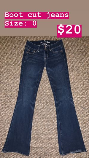 Boot cut jeans for Sale in San Angelo, TX