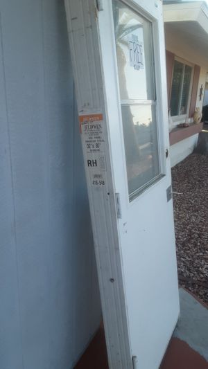 "32"" pre-famed exterior door with slider window. FREE for Sale in Sun City, AZ"