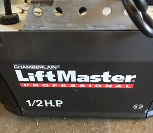 Garage door opener complete set up for Sale in Selma, TX