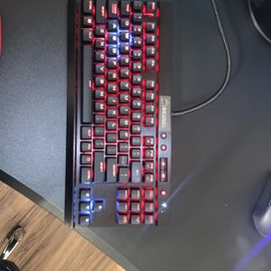 Corsair M55 Rgb Pro Gaming Mouse And A Mechanical Keyboard for Sale in Sunnyvale, CA