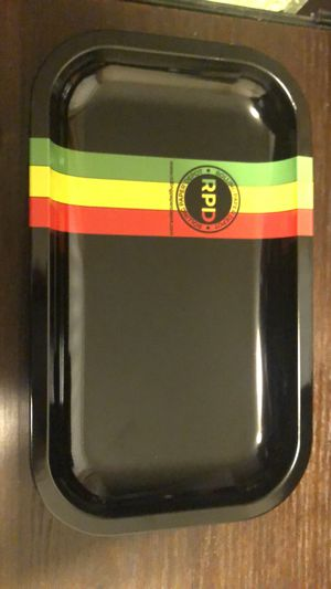 Rolling paper depot rolling tray (Rasta Racer) for Sale in Tampa, FL
