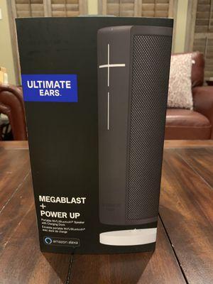 Ultimate Ears Megablast + Power Up + Alexa for Sale in Plano, TX