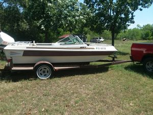 Boat,javelin outboard motor, trailer for Sale in San Antonio, TX