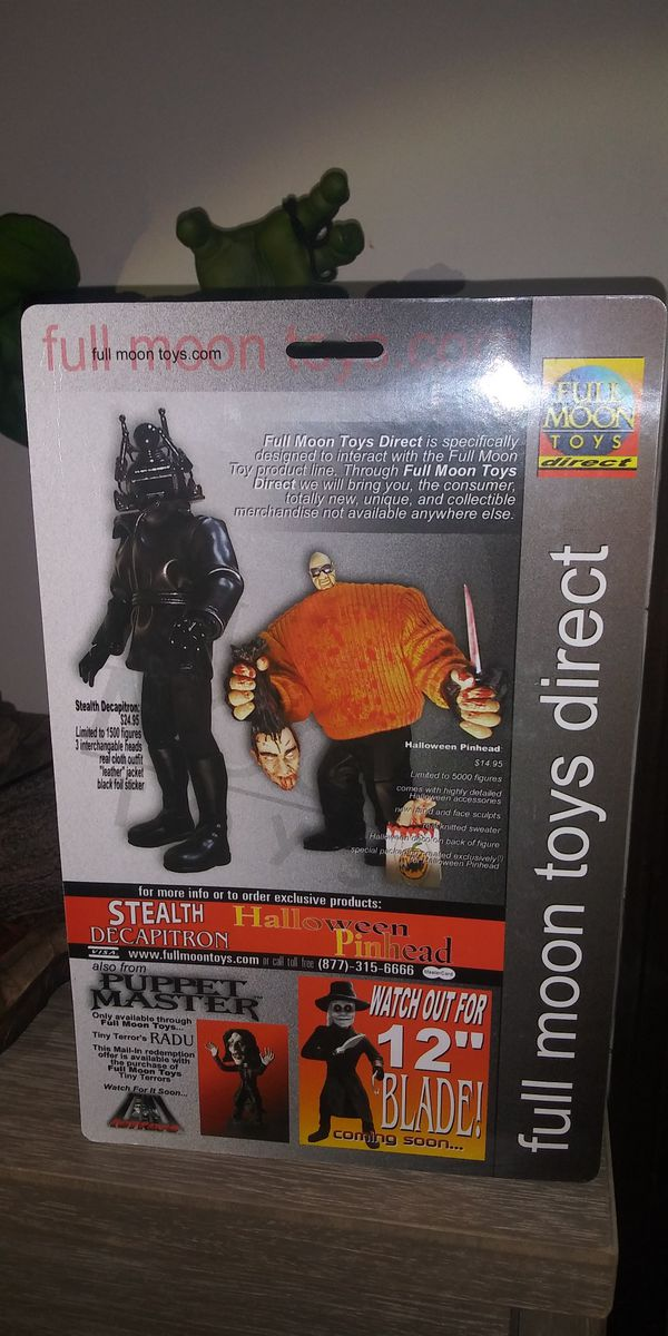 Puppet master full moon toys the mortician figure