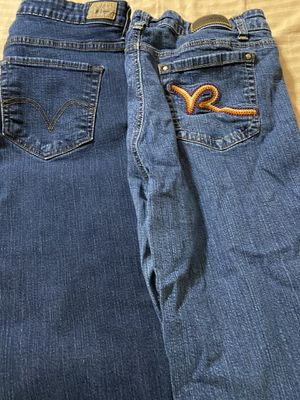Ladies jeans size 16 (2) for Sale in Tolleson, AZ