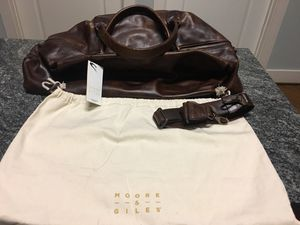 Moore & Giles Leather Travel Bag—never used for Sale in Lynchburg, VA