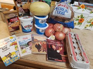 Free food bundle and Children's books for Sale in Las Vegas, NV