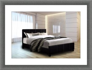Platform Bed Black free mattress and shipping for Sale in Fairfax, VA