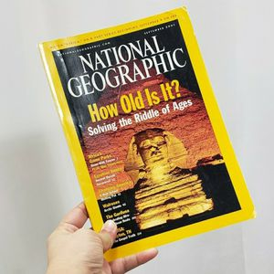 National Geographic September 2001 Magazine for Sale in Redmond, WA