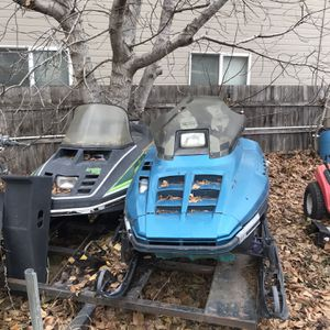 Snowmobiles And Trailer for Sale in Wenatchee, WA