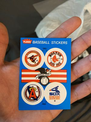 Fleer Baseball Stickers for Sale in Los Angeles, CA
