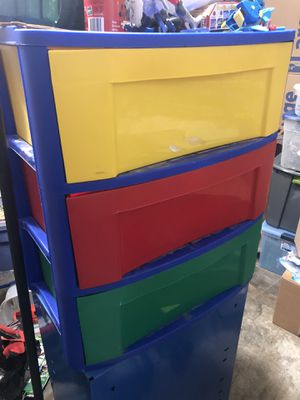 Kids toy drawer toy box for Sale in Graham, WA