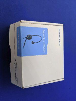 NEW Plantronics SupraPlus HW251N Gaming / Phone Headset for Sale in Lodi, CA