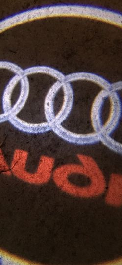 Audi Car Door Lights Puddle Lights Auto On&off aaa Batteries for Sale in Long Beach,  CA