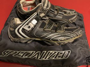 Specialized Carbon Pro MTB Men's 10 and Shimano SPD-M540 pedal for Sale in Seattle, WA