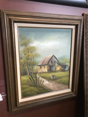 """SIGNED """" APPEL """" OIL PAINTING!!!! for Sale in Woodinville, WA"""