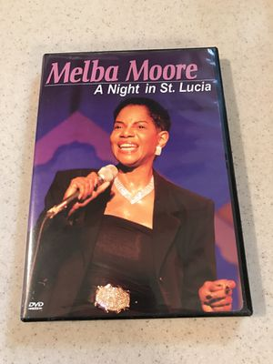 """""""Melba Moore: A Night in St. Lucia"""" DVD for Sale in DeSoto, TX"""
