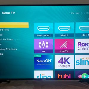 "58"" Smart 4k Roku TV for Sale in Lawrence, MA"