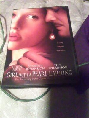 Girl with a pearl Earrings Colin Forth Scarlett Johansson Tom Wilkinson for Sale in Seattle, WA